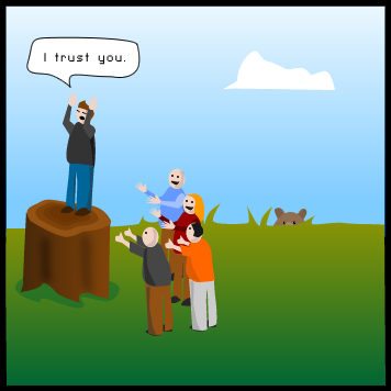 Very Funny Team Building Cartoon Teamwork And Leadership Bloggings